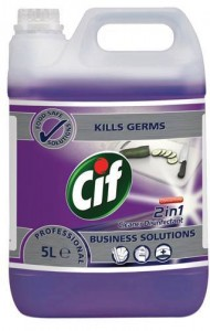 Cif 2in1 Cleaner Disinfectant Conc 5l Mycie i Dezynfekcja